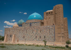 Ancient mosque. In south of Kazakhstan Royalty Free Stock Photography