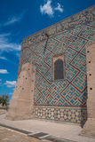 Ancient mosque. In south of Kazakhstan Royalty Free Stock Photos