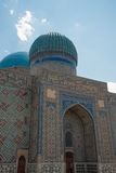 Ancient mosque. In south of Kazakhstan Royalty Free Stock Photo