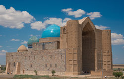 Ancient mosque. In south of Kazakhstan Stock Photography