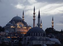 Ancient mosque in Istanbul, Turkey royalty free stock photos