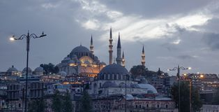 Ancient mosque in Istanbul, Turkey stock photos