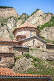 Ancient mountain monastery in Georgia - Shiogvime. It was found Royalty Free Stock Photography
