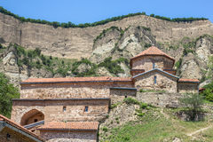 Ancient mountain monastery in Georgia - Shiogvime. It was found Royalty Free Stock Image