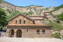Ancient mountain monastery in Georgia - Shiogvime. It was found Stock Images