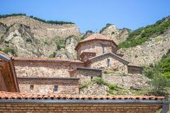 Ancient mountain monastery in Georgia - Shiogvime. It was found Stock Image