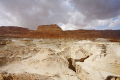 The ancient mountains of the Dead Sea Royalty Free Stock Image