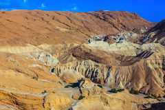 Ancient mountains of the Dead Sea Stock Photography