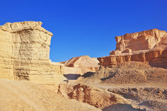 The ancient mountains of Judean Desert Royalty Free Stock Photography