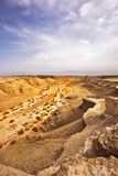 The ancient mountains near Dead Sea Royalty Free Stock Photography