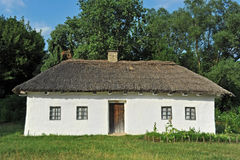 Ancient mud hut Stock Photo