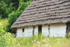 Ancient mud hut Stock Images