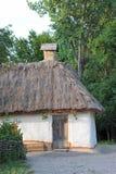 Ancient mud hut Stock Photography