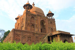 Ancient Mughal tombs in monuments allahabad india. Monument park containing 5 beautiful tombs in historical monuments, Prince Khusru; Mughal tombs; Shah Begum Royalty Free Stock Photography