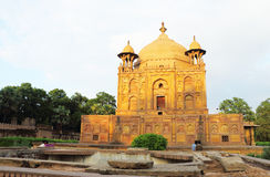 Ancient Mughal tombs in monuments allahabad india Stock Image