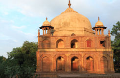 Ancient Mughal tombs in monuments allahabad india. Monument park containing 5 beautiful Mughal tombs Prince Khusru Shah Begum Tamolon's  Nesa Begum Royalty Free Stock Photos