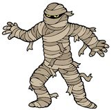 Ancient mummy Stock Image
