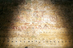 Ancient Murals Royalty Free Stock Photography