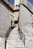 Ancient Museum of stone in Antibes France. View royalty free stock photography