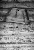 Ancient musical instrument gusli on the wooden floor. Toned Royalty Free Stock Photo