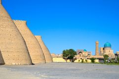 Ancient Muslim Architectural Complex, Uzbekistan Royalty Free Stock Photography