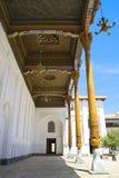 Ancient Muslim Architectural Complex, Uzbekistan. The courtyard of the ancient architectural complex  Baha-ad-Din Naqshbandi, Bukhara, Uzbekistan, 16 century Royalty Free Stock Image