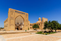 The Ancient Muslim Architecture memorial complex, necropolis Chor-Bakr in Bukhara, Uzbekistan. UNESCO world Heritage Royalty Free Stock Photo