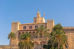 Ancient Muslim Castle Stock Image