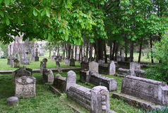 Ancient muslim cemetery Stock Images