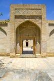 Ancient Muslim necropolis in Bukhara, Uzbekistan, 16 century, UNESCO World Heritage Site. The Ancient Muslim Architecture memorial Complex  Chor-Bakr in Bukhara Stock Photos