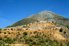 Ancient Mycenae Royalty Free Stock Photo