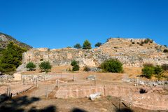 Ancient Mycenae Stock Photography