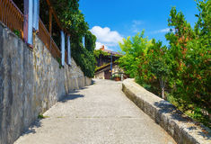 Ancient narrow street Royalty Free Stock Images