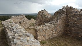 Ancient Native American ruin with big sky Royalty Free Stock Photo