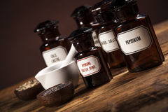 The ancient natural medicine Stock Images