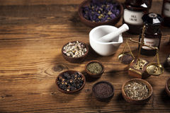 The ancient natural medicine Royalty Free Stock Photography