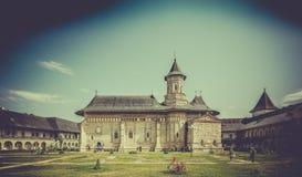 NeamÈ› Orthodox Monastery in Romania royalty free stock photography