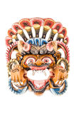 Ancient nepalese mask Royalty Free Stock Photo