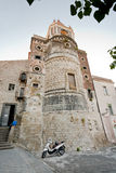 Ancient norman Church in Sicily Stock Photos