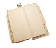 Ancient notebook for notes royalty free stock photography