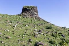 Ancient Nuraghe in Sardinia stock photos