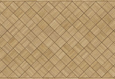 Ancient oak parquet Stock Photography
