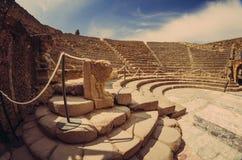 Ancient odeion of Pompeii Royalty Free Stock Photos