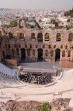 Ancient odeum Stock Photo