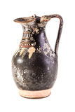 Ancient oenochoe vase Stock Photos