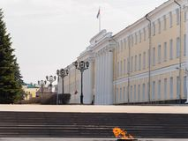 Ancient office building of government in Nizhny Novgorod Stock Images