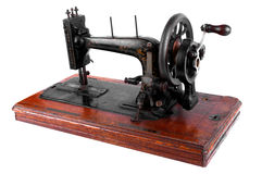 An ancient oiler. Of old sewing machine royalty free stock photo