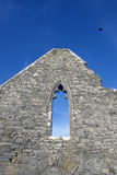 Ancient old arched window Stock Image