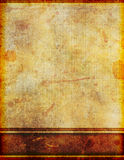 Ancient Old Dirty Stained Parchment Paper Stock Photography