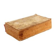 Ancient Old lacerated book Royalty Free Stock Photography